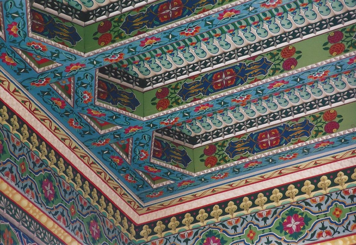Tea House ceiling